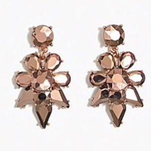 NEW J Crew Factory opaque statement earrings